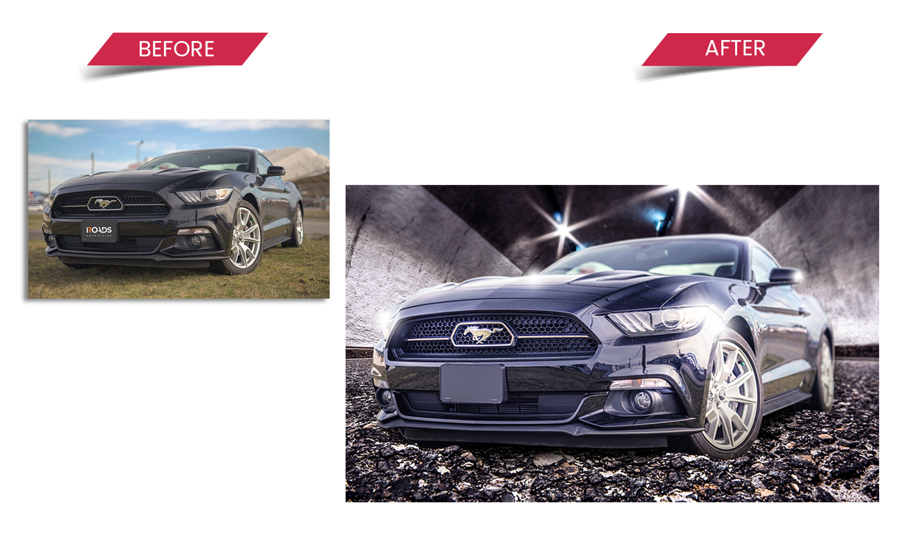 automotive retouching