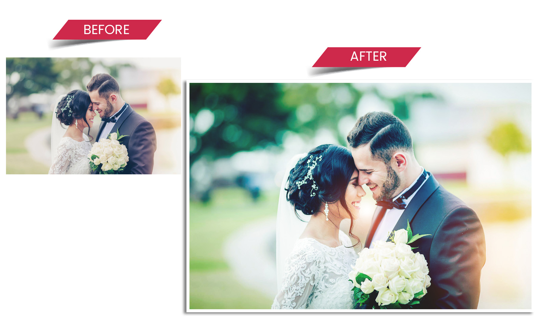wedding photography editing services