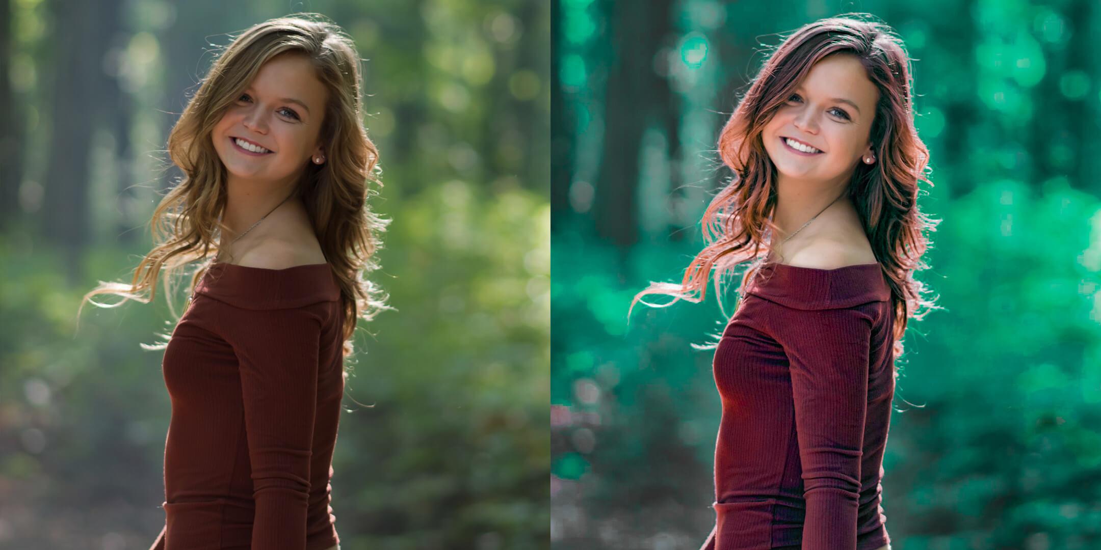 photo color correction services