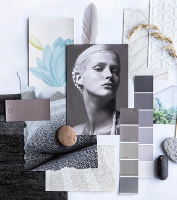 create inspirational mood boards using these easy tips